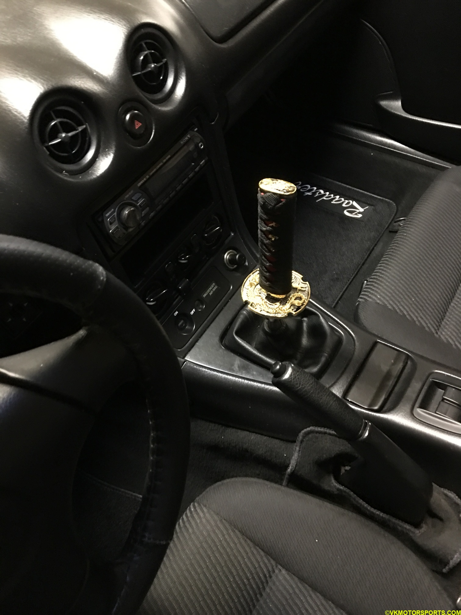 Figure 13. Far view of new shifter knob